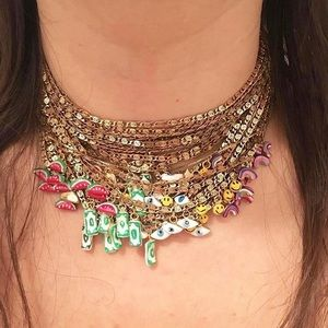 Custom Susan Alexandra Charm Necklace